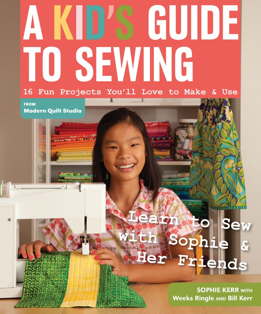 A Kid's Guide to Sewing cover